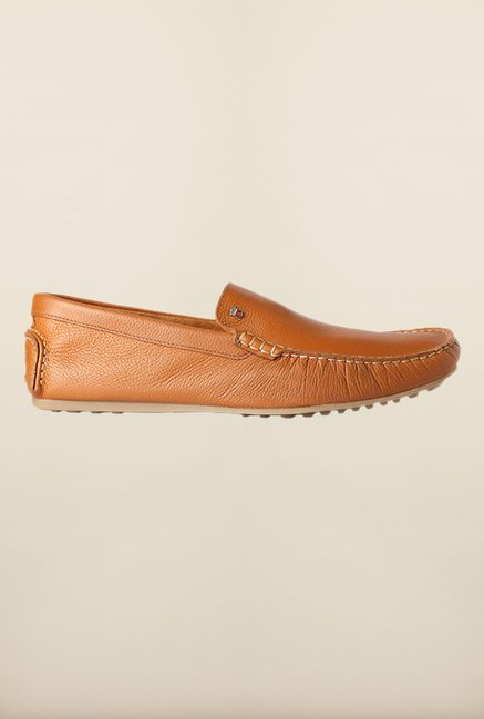 Louis Philippe Brown Loafers