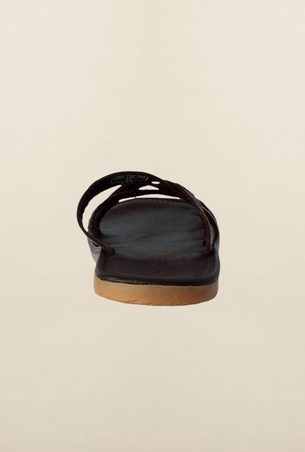 Louis Philippe Brown Slippers
