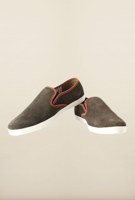 People Olive Casual Slip-Ons
