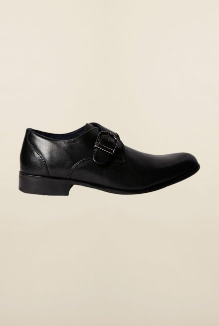 Louis Philippe Black Monk Shoes