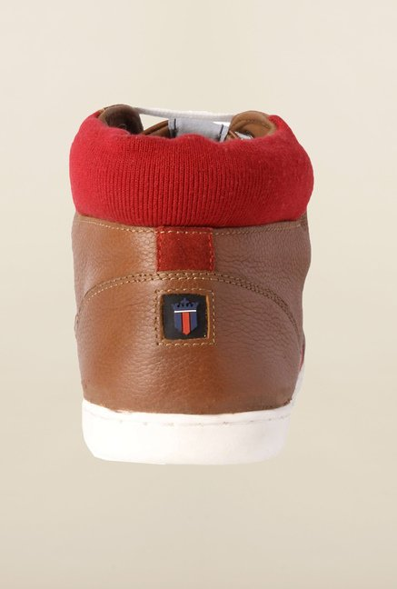 Louis Philippe Brown Sneakers
