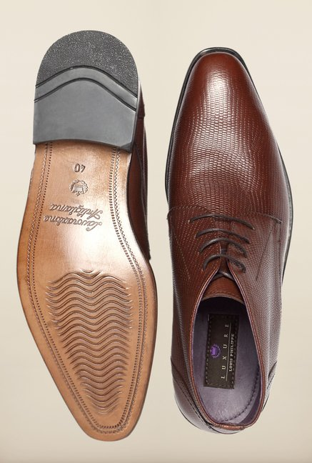 Louis Philippe Brown Chukka Boots
