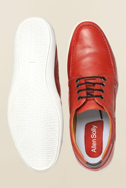 Allen Solly Red Boat Shoes
