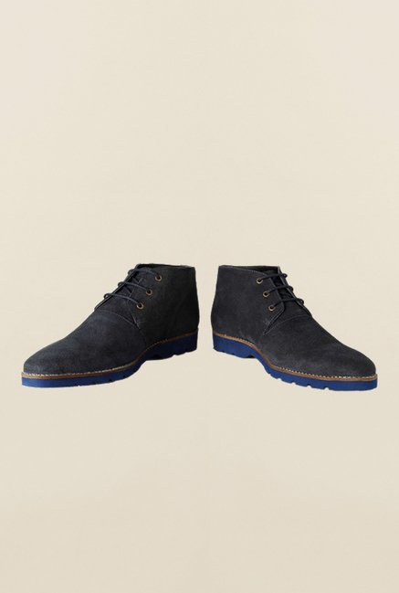 Van Heusen Navy Chukka Shoes