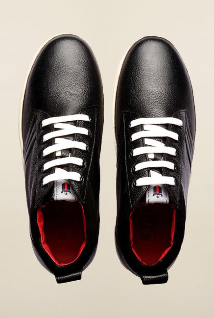 Louis Philippe Black Sneakers