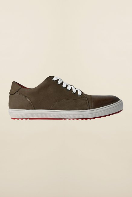 Louis Philippe Khaki Sneakers