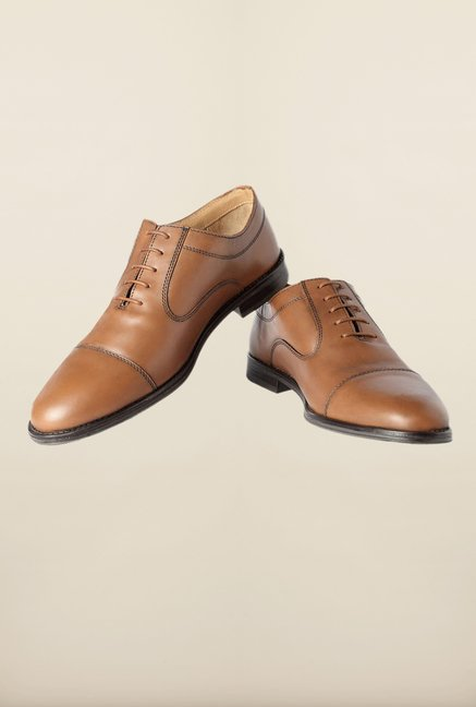 Van Heusen Beige Formal Shoes