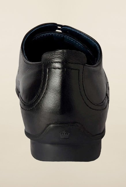 Louis Philippe Black Formal Shoes