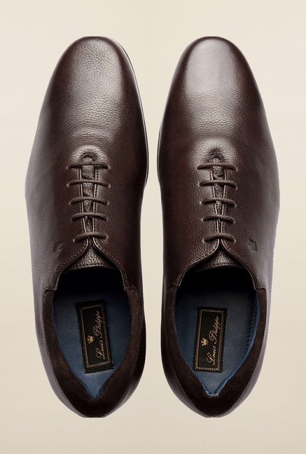 Louis Philippe Brown Formal Shoes