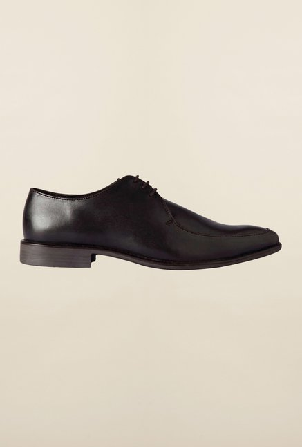 Van Heusen Dark Brown Formal Shoes