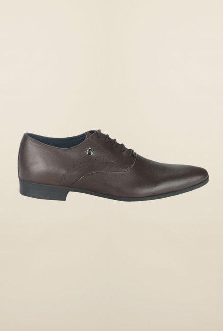 Louis Philippe Brown Oxford Shoes