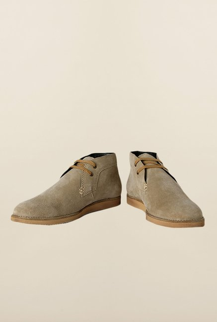 Allen Solly Beige Chukka Shoes