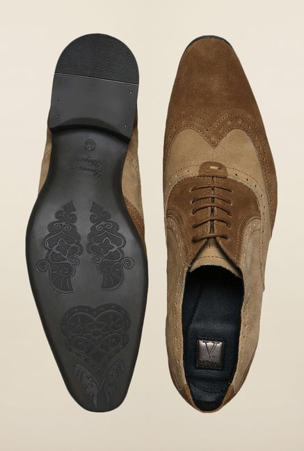 Van Heusen Brown Brogue Shoes