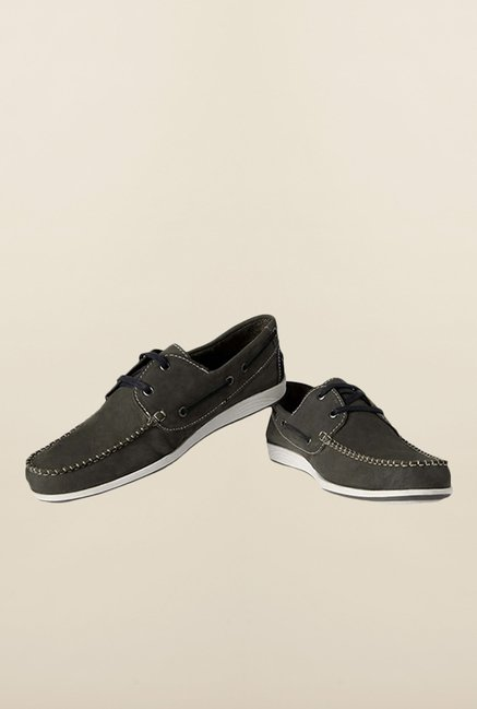 Allen Solly Grey Boat Shoes