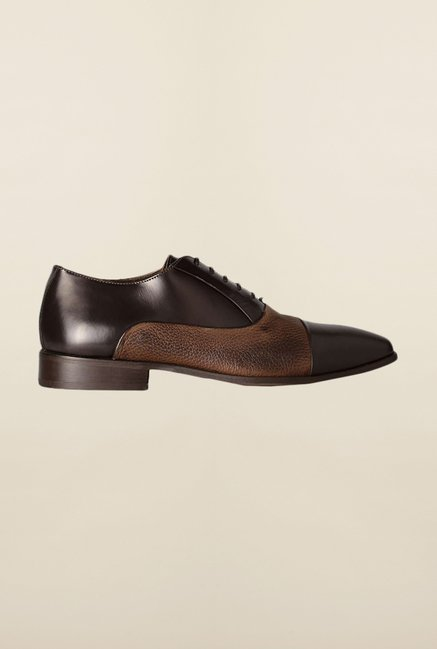 Van Heusen Brown Oxford Shoes