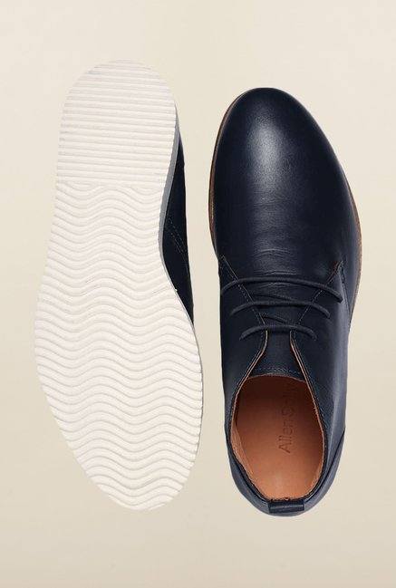 Allen Solly Navy Chukka Shoes