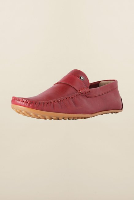 Louis Philippe Maroon Loafers