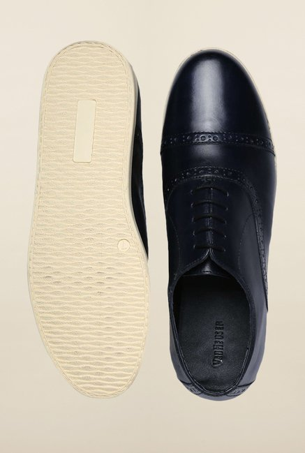 Van Heusen Navy Oxford Shoes