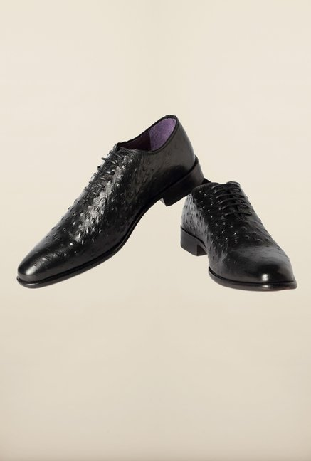 Louis Philippe Black Casual Shoes