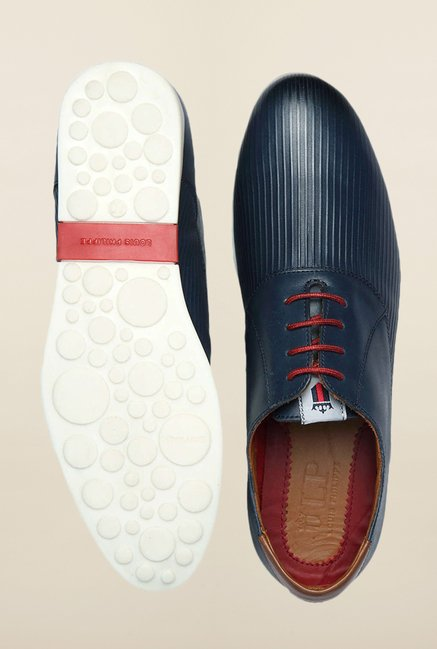 Louis Philippe Blue Sneakers