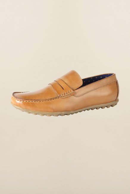 Allen Solly Brown Loafers