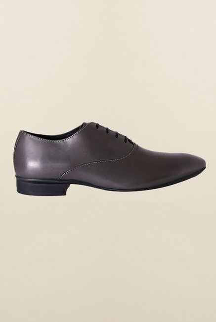 Van Heusen Grey Oxford Shoes