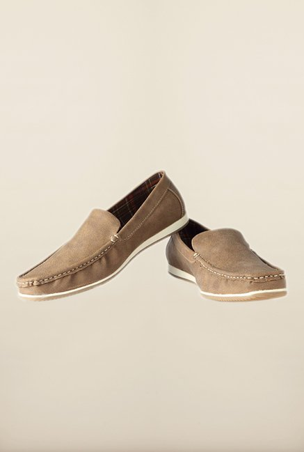 People Brown Loafers