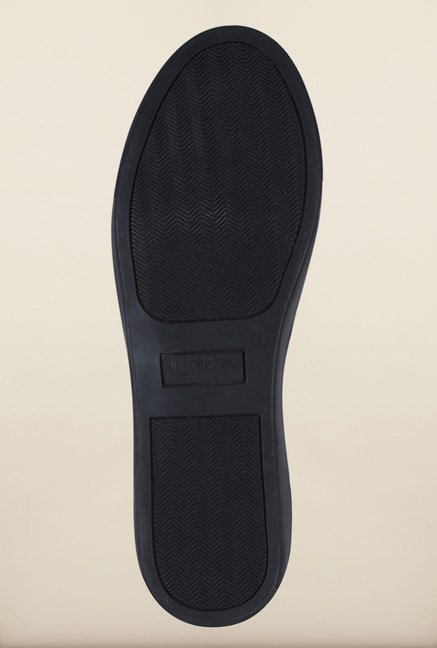 US Polo Assn. Black Slip-Ons Shoes