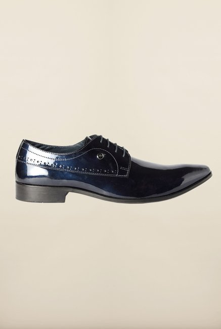 Louis Philippe Navy Derby Shoes