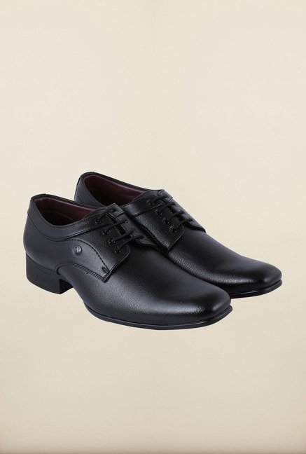 Arrow Black Formal Lace-up Shoes