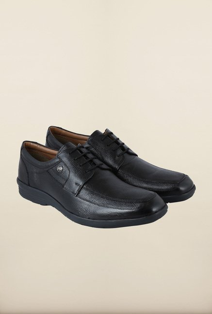 Arrow Black Derby Formal Shoes