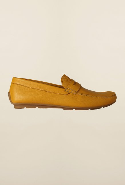 Allen Solly Turmeric Loafers