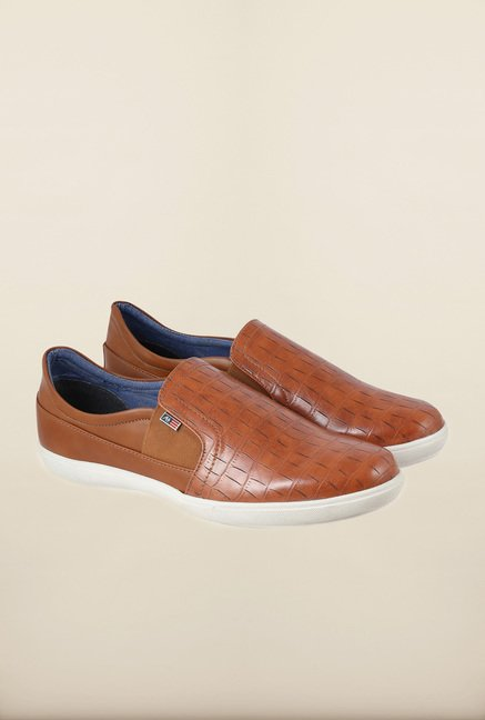 Arrow Tan Slip-Ons Shoes
