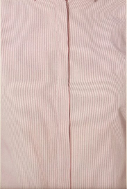 Van Heusen Pink Striped Cotton Shirt