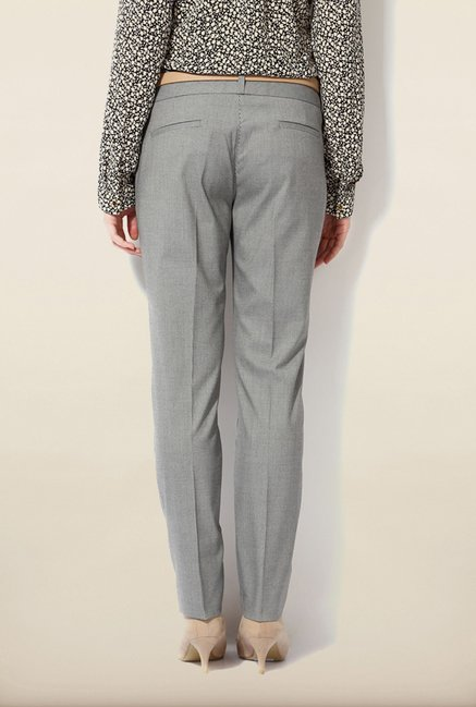 Van Heusen Grey Slim Fit Trouser