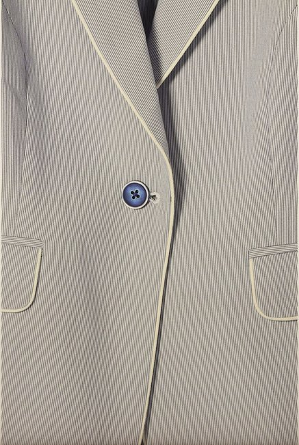 Van Heusen Grey Striped Blazer