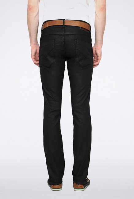 People Black Slim Fit Jeans