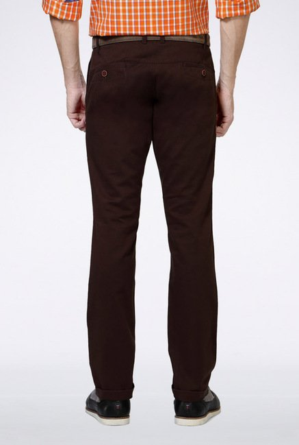 University Of Oxford Brown Casual Trousers