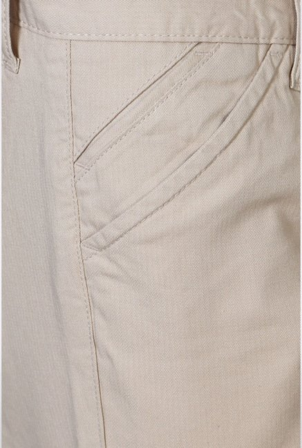 University Of Oxford Beige Casual Trousers