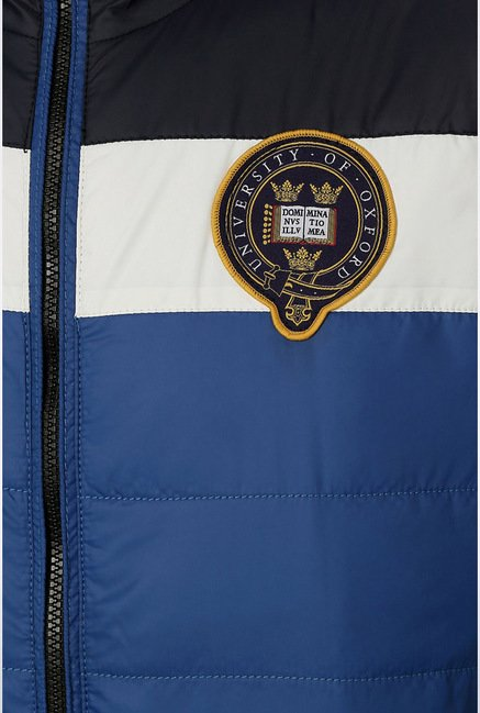 University Of Oxford Blue Solid Jacket