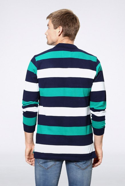 University Of Oxford Multicolor Striped T Shirt