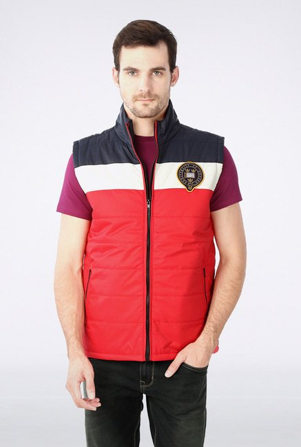University Of Oxford Red Solid Jacket