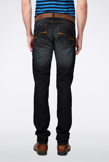 Van Heusen Black Slim Fit Jeans