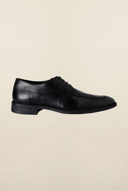 Van Heusen Black Derby Shoes