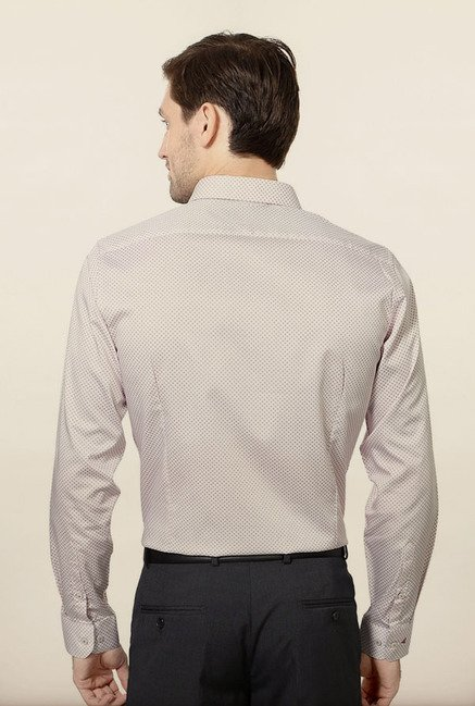 Van Heusen Beige Formal Shirt