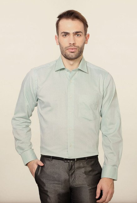 Van Heusen Mint Formal Shirt