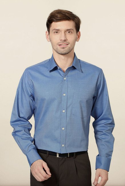 Allen Solly Blue Formal Shirt