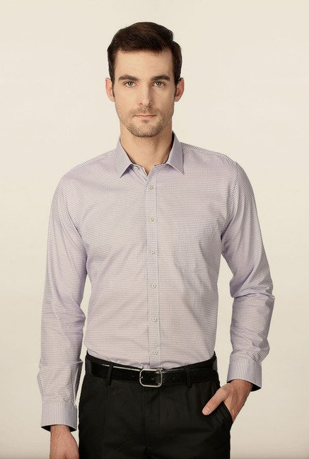 Van Heusen Lavender Formal Shirt