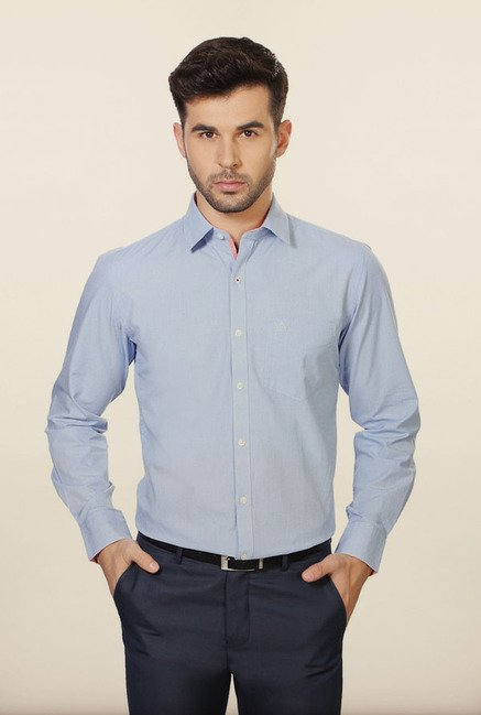 University of Oxford Blue Formal Shirt