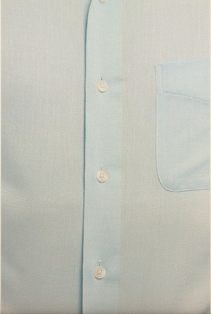 Peter England Sky Blue Formal Shirt